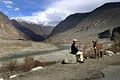 Boy and a donkey in northern Pakistan.jpg