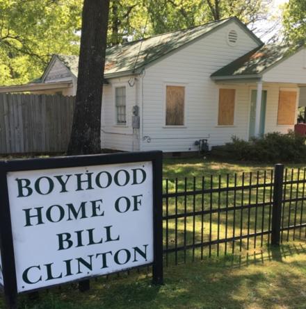 Boyhood Home of Bill Clinton, Hope, Arkansas Boyhood Home of Bill Clinton, Hope, AR.png