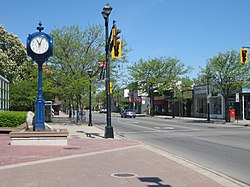 Brant Street in Downtown Burlington