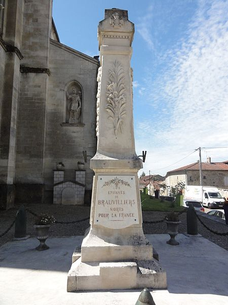 Brauvilliers (Meuse) monument aux morts