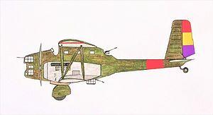 Breguet 410 - Breguet 413 of the Spanish Republican Air Force