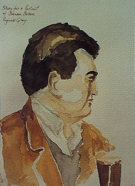 File:Brendan Behan.watercolour.jpg