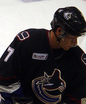 Brendan Morrison - Morrison in 2005 with Vancouver
