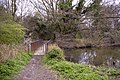Bridge over Gully from Boxer's Lake, Enfield - geograph.org.uk - 732881.jpg