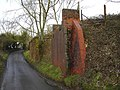 Bridge remnants, near Wootton Rivers, Marlborough - geograph.org.uk - 345756.jpg