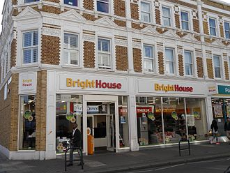 BrightHouse (retailer) - BrightHouse, North End Road, Fulham, London