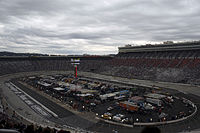 A picture of the Bristol Motor Speedway.
