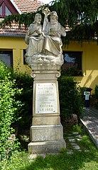 socha Nejsvětější Trojice