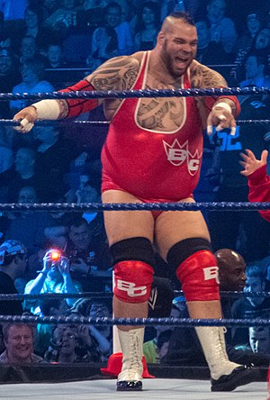 Tyrus (wrestler) - Murdoch as Brodus Clay in April 2012