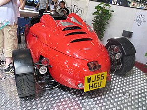 Brooke Double R Cosworth at British International Motor Show 2006.jpg