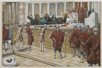 Gabbatha - The Judgment on the Gabbatha by James Tissot, c. 1890
