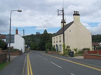 Broughton, Lincolnshire - Image: Broughton, Lincolnshire