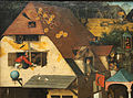 Bruegel il vecchio, proverbi fiamminghi, 1559, 02.JPG