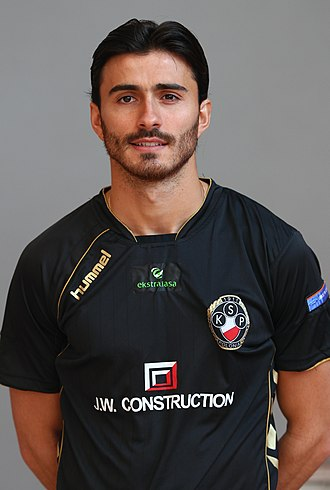 Bruno Coutinho (footballer) - Bruno as player for Polonia Warsaw
