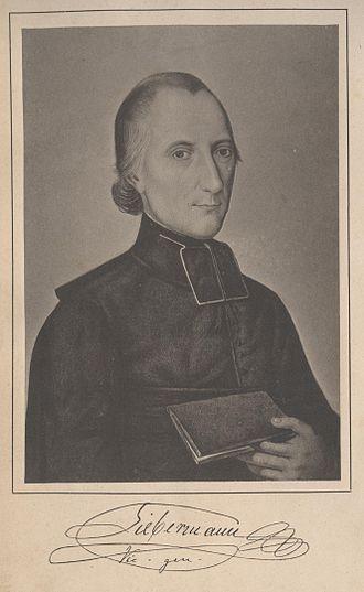 Bruno Franz Leopold Liebermann - Liebermann, lithograph after a portrait, from Joseph Guerber, Biographie Liebermanns, 1880