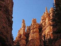 Erosionsformen im Bryce Canyon