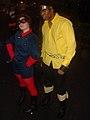Bucky and Luke Cage - Marvel Comics Costume contest, Union Square, New York 2009.jpg