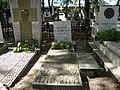 Bucuresti, Romania, Cimitirul Bellu Ortodox (Mormantul lui George Calinescu - scriitor).JPG