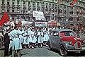 Budapest, 1946. május 1-i felvonulók - Fortepan 173982.jpg