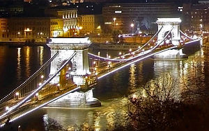 William Tierney Clark - Széchenyi Chain Bridge, Budapest