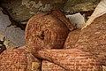 Buddhist statue made from Clay bricks.jpg