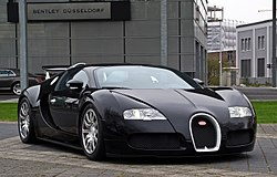 5. Bugatti Veyron EB 16.4 (2.46 seconds)