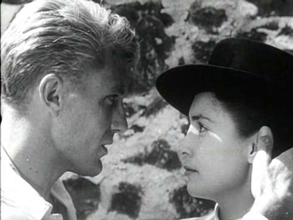 Joy Page - with Robert Stack, in Bullfighter and the Lady (1951)