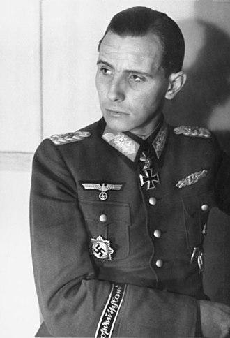 Führerbegleitbrigade - Otto Ernst Remer in 1945