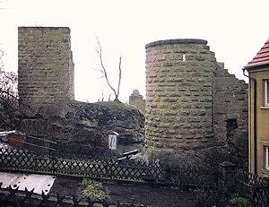 Lichtenstein Castle (Lower Franconia) - Image: Burg Lichtenstein Nord