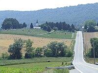 Burkittsville MD - Maryland Route 17.jpg