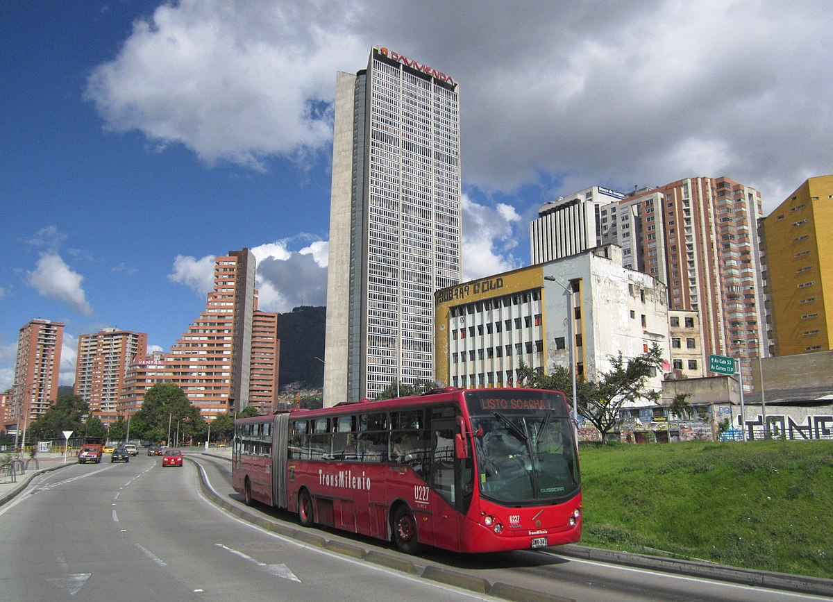 Avenida caracas wikipedia la enciclopedia libre for Empresas de jardineria bogota