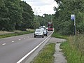 Bus stop and lay-by, A45 Birmingham Road - geograph.org.uk - 2576716.jpg