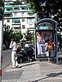 Bus stop in Kolonakiou Square (Athens) 01.JPG