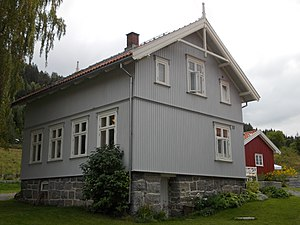 Herman Wildenvey - Portåsen - childhood home of Herman Wildenvey