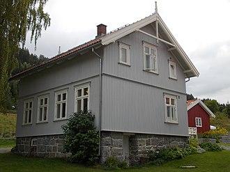 Herman Wildenvey - Portåsen - childhood home of Herman Wildenvey
