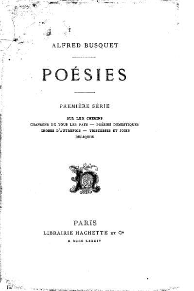 File:Busquet - Poésies, sér1, 1884.djvu