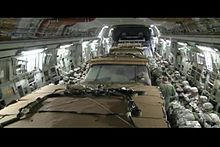 Файл:C-17 Airdrop 4 Humvees + 50 Paratroopers.ogv