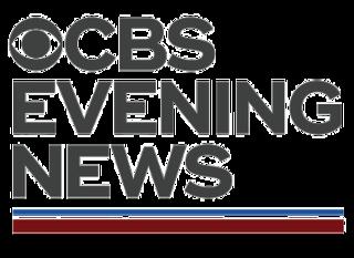 <i>CBS Evening News</i> Evening news programme, broadcast on CBS News