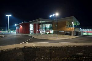 Ystrad Mynach - Image: CCB Centre for Sporting Excellence Main Building front entrance
