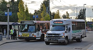 Columbia County, Oregon - The CC Rider transit service links the county to Portland and points in Washington County, including connecting with TriMet buses and the MAX light rail system in eastern Hillsboro.