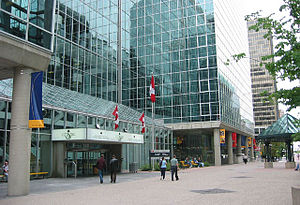 Innovation, Science and Economic Development Canada - The C.D. Howe Building, home to many Industry Canada offices