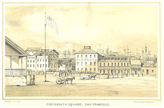 Portsmouth Square - Portsmouth Square, 1850