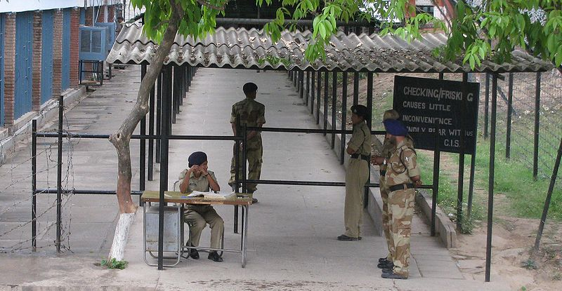 File:CISF Security Check Point.jpg