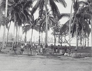 West Aceh Regency - Image: COLLECTIE TROPENMUSEUM Bivak Teunom westkust van Atjeh T Mnr 60039144