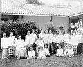 COLLECTIE TROPENMUSEUM De meisjes in het internaat met mejuffrouw Avelingh en mevrouw Goes. TMnr 60002669.jpg