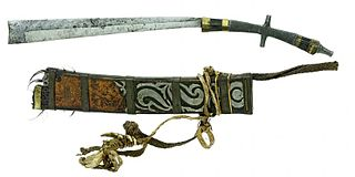 Pandat Type of Chopper, War Sword