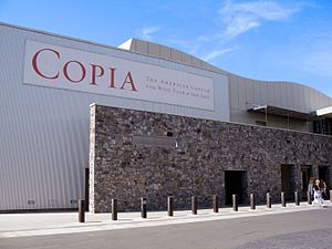 Copia (museum) - Image: COPIA food and wine center