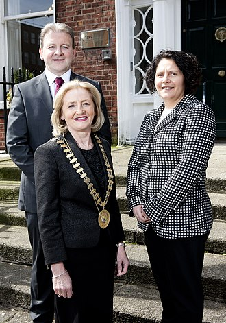 Institute of Certified Public Accountants in Ireland - CPA Ireland's newly elected officer group for 2016, from left to right: Nano Brennan, president, Cormac Mohan, vice president and Deirdre Kiely, vice president.