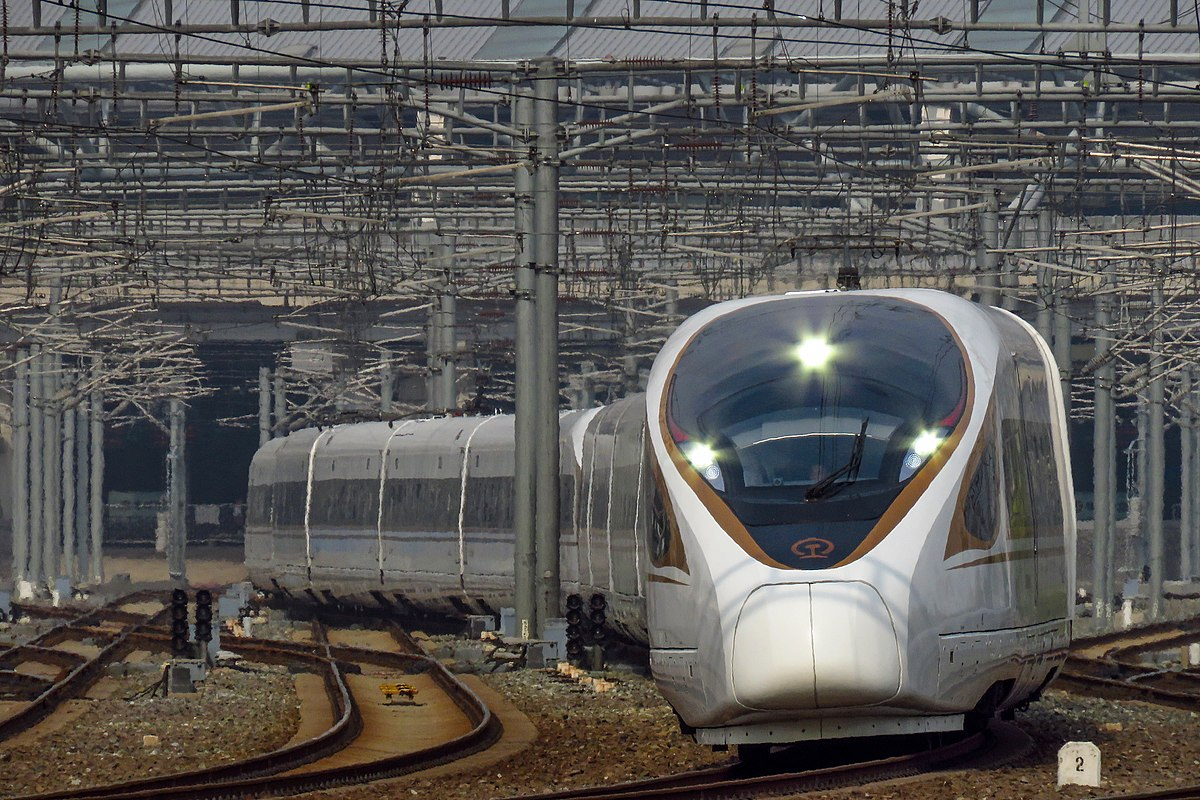 Beijing–Shanghai high-speed train - Wikipedia