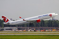 Airbus A330-300 der Czech Airlines